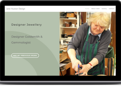Jane Huston Jewellery Website