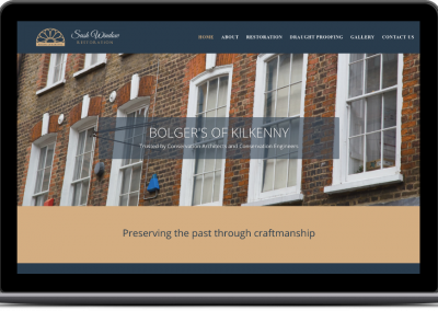 Bolgers of Kilkenny Web Design