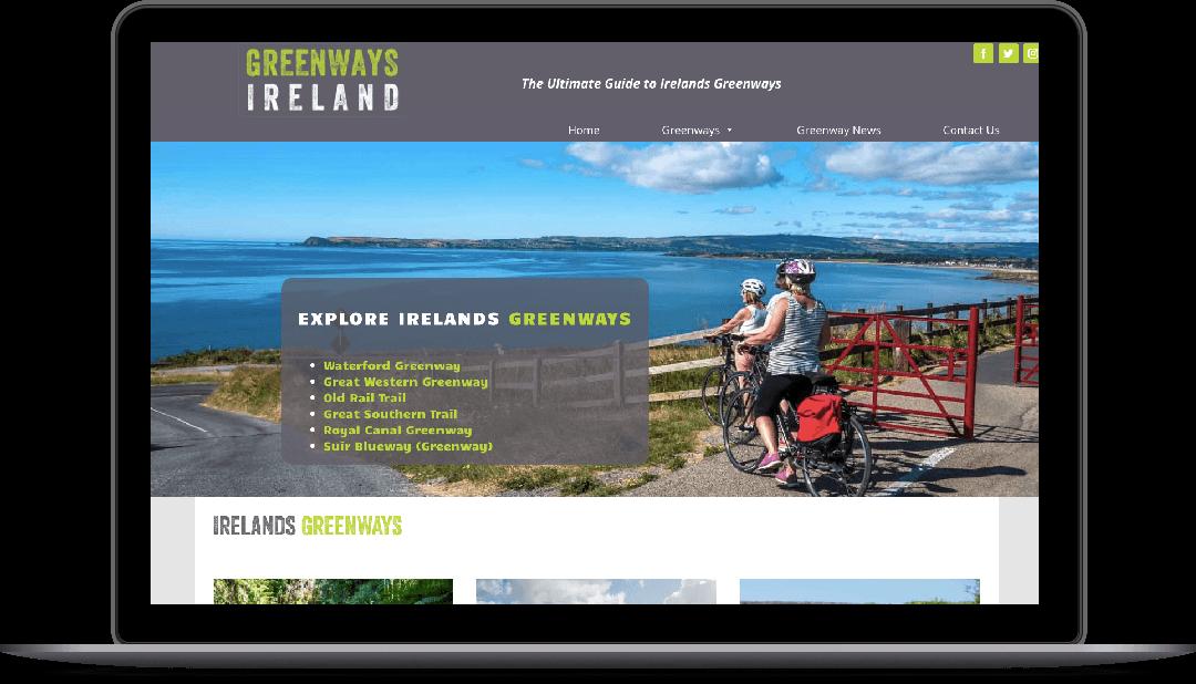 web design for greenways ireland